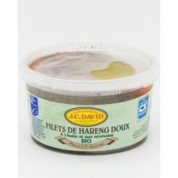 Filets de Harengs Doux à l'Huile et aux Aromates BIO