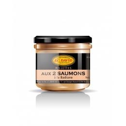 Rillettes aux 2 Saumons 42% à la Badiane