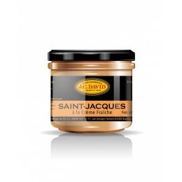 Saint-Jacques à la Crème Fraîche